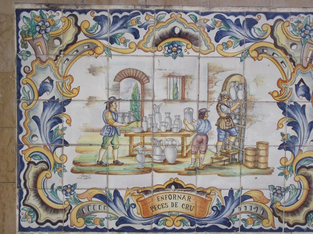 ceramica de manises:
