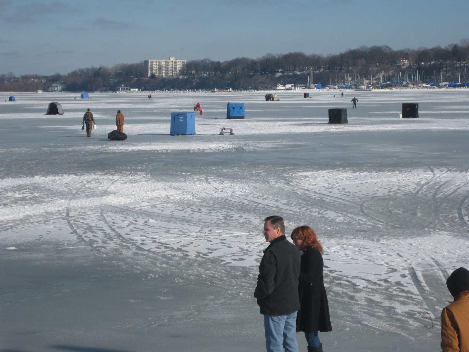 lake erie fishing blog ice is good for fishing presque