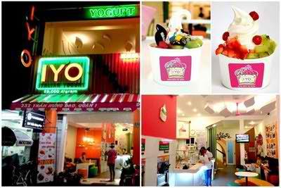 Ngon với  kem dẻo tự kéo tại IYO Frozen Yogurt, dia chi am thuc, sài gòn ẩm thực, địa điểm ăn uống, diemanuong365.blogspot.com