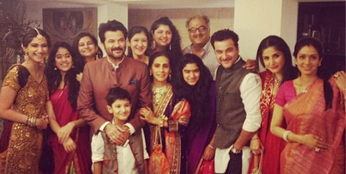 Arjun Kapoor big family