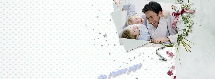 Couverture facebook pour fête des pères