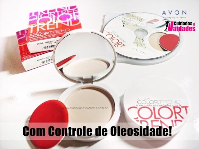 Pó Compacto Avon Color Trend Matte