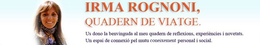 IRMA ROGNONI,  QUADERN DE VIATGE.