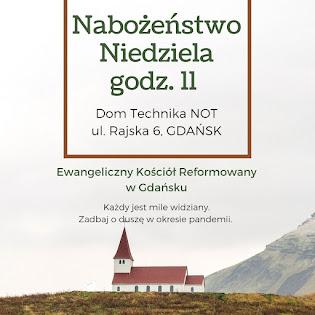 ZAPRASZAM NA NABOŻEŃSTWA w Gdańsku