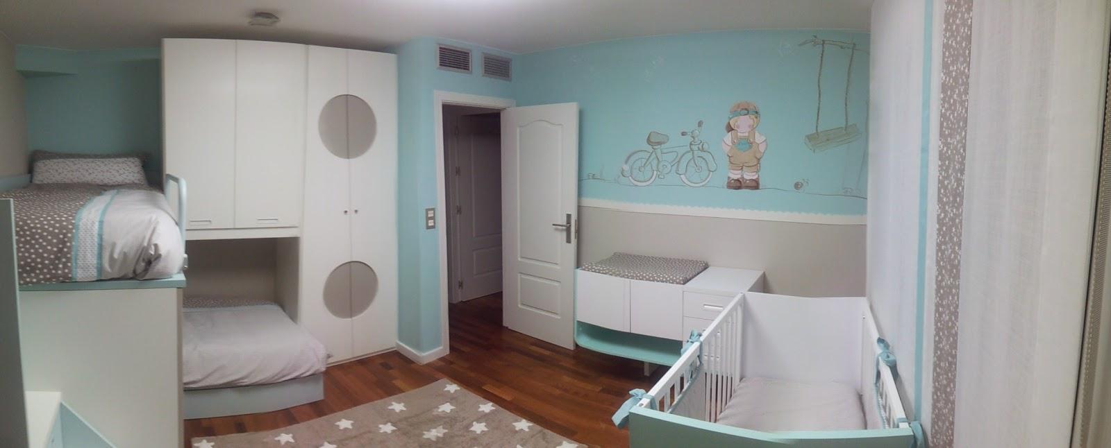 Deco chambre b b d coration chambre d 39 enfant for Chambre bebe peinture murale