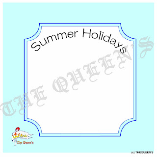 Summer Holidays 夏休み