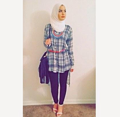 Fashion Street Style Ala Omaya Zein Hijabers Palestina New Style