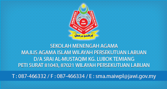 Hubungi SMA MAIWPL