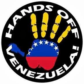 Κάτω τα χέρια από τη Βενεζουέλα! * Hands off Venezuela! * Giu le Mani dal Venezuela!