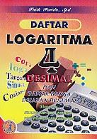 toko buku rahma: buku DAFTAR LOGARITMA 4 DESIMAL, pengarang tatik farida, penerbit cv ita