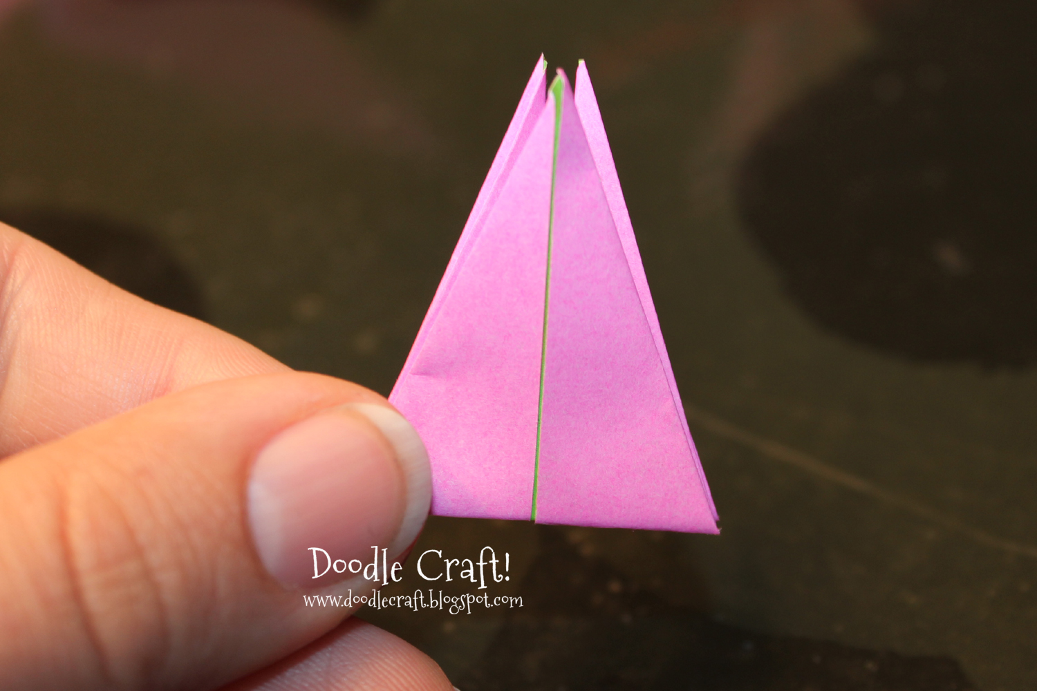 doodlecraft origami flapping paper crane mobile