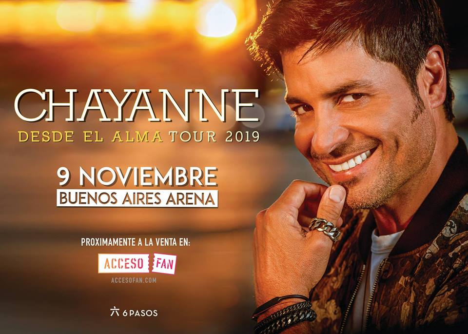 Chayanne en Buenos Aires Argentina