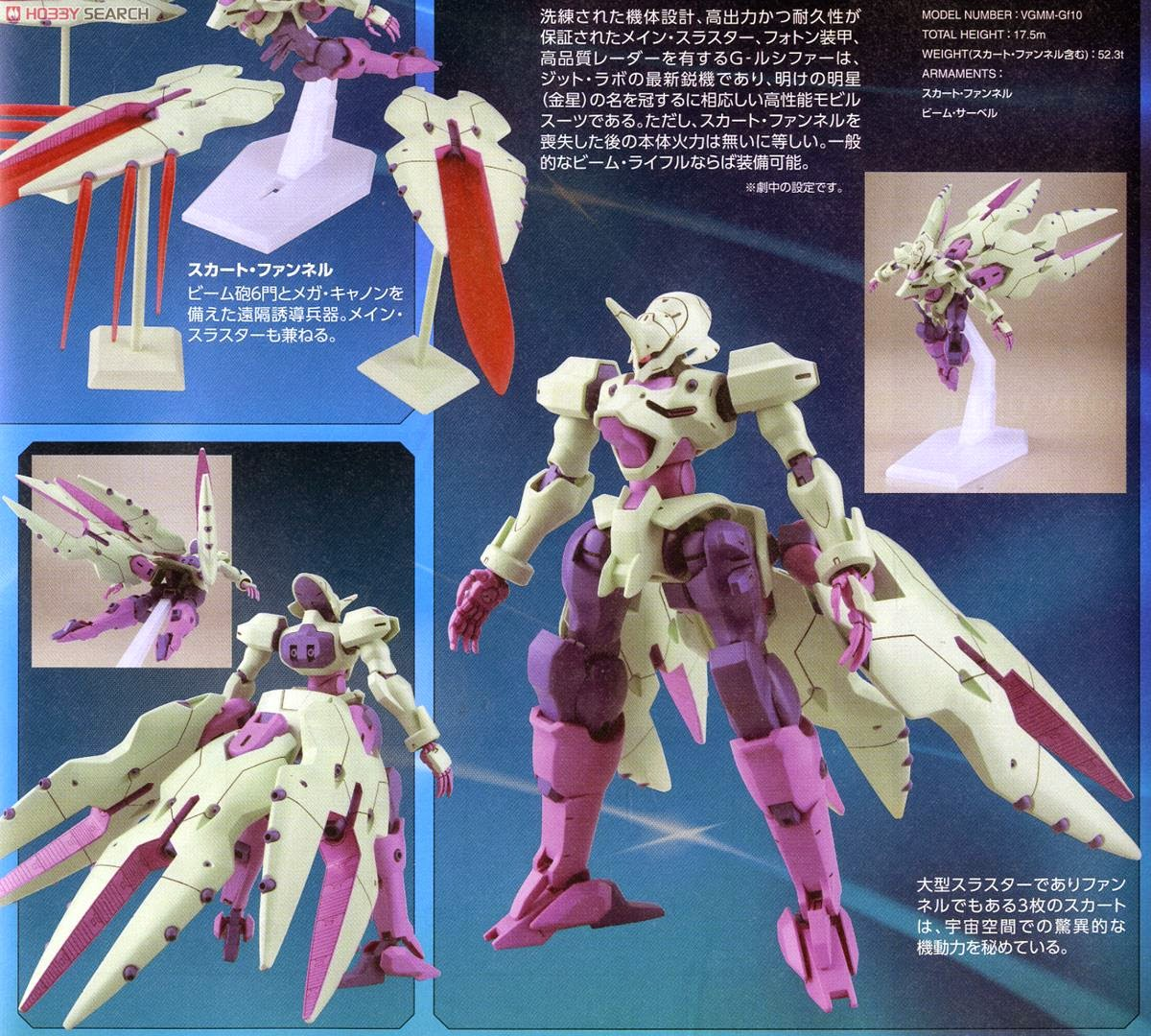 GUNDAM GUY: HG 1/144 Gundam G-Lucifer