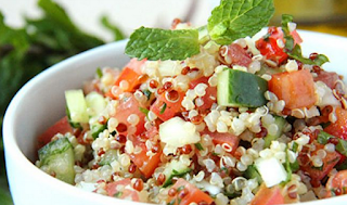 Tabule de quinoa light