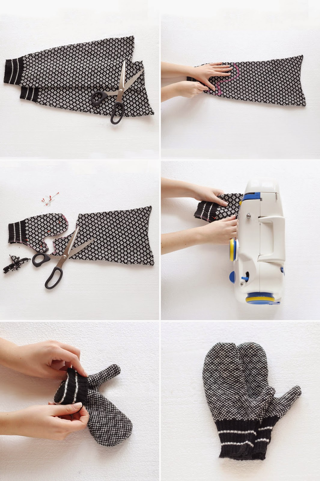 DIY, Manoplas con Ropa Reciclada