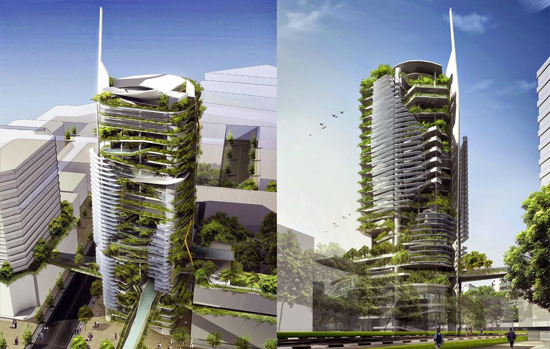 la granja vertical de singapur