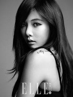 HyunA 현아 Elle Korea Pictures 6