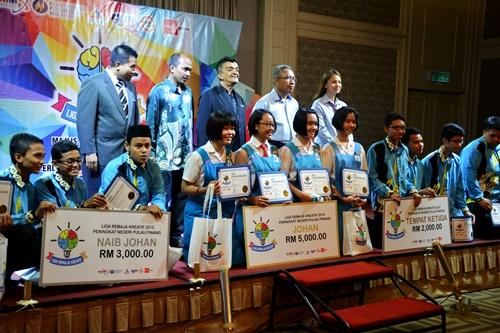 Majlis Liga Remaja Kreatif 2015 Peringkat Zon Utara Pulau Pinang