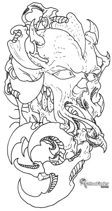 Line Drawing Tattoo Designs : Tattoo line art