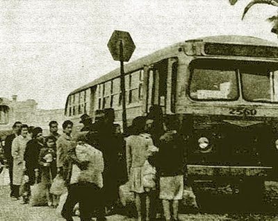 Bus de la ETCE en terminal Mapocho