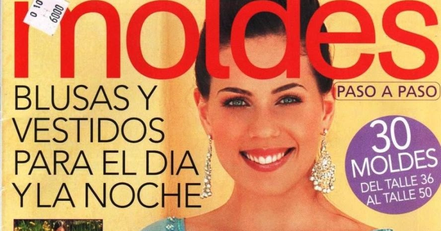 Revista look moldes vestidos de fiesta