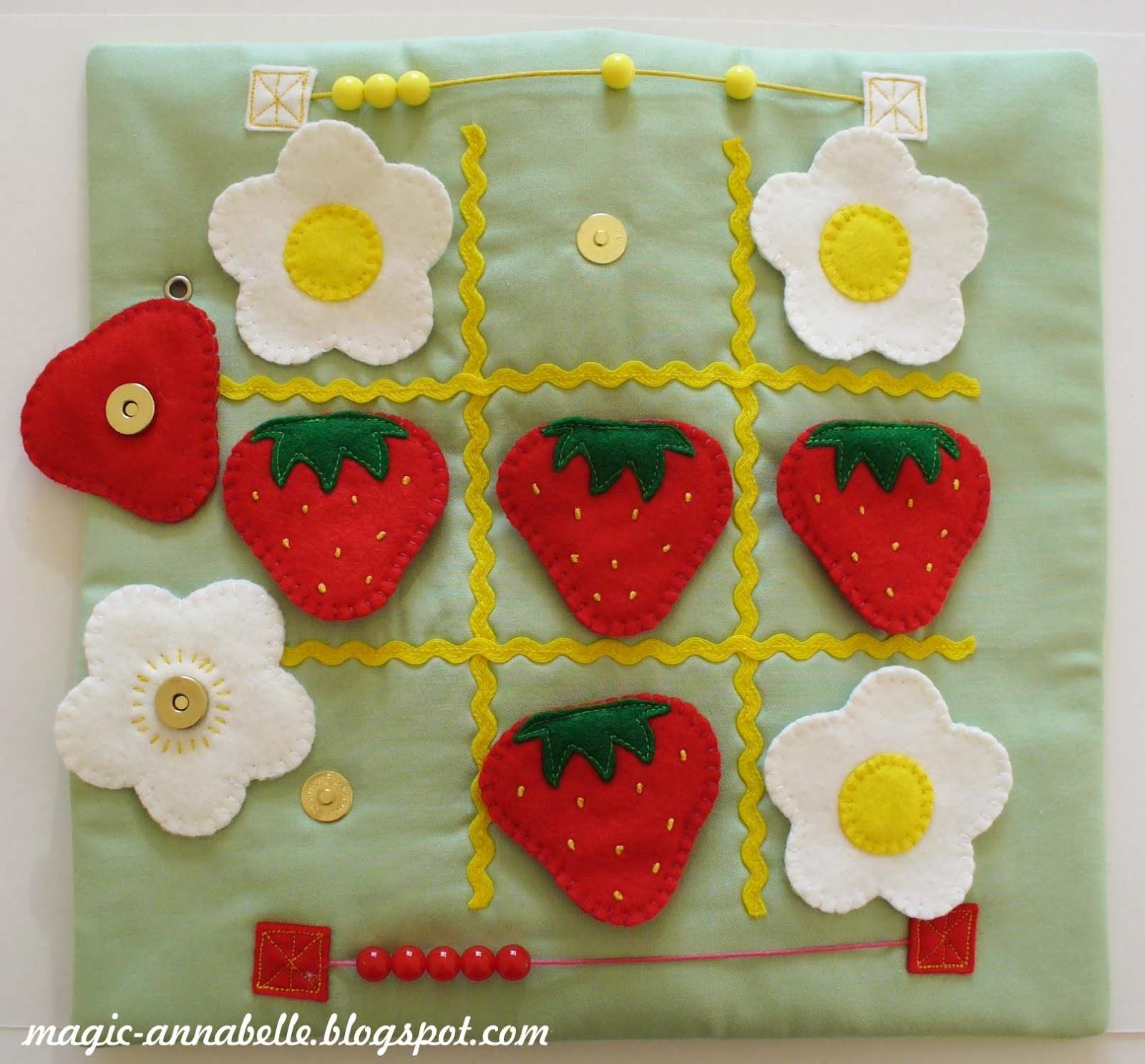 Как сделать книжку ягоды малышку своими руками для детского сада