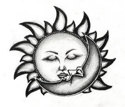 Sun Tattoos Designs No 1