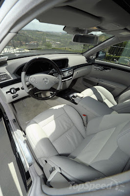 2011 Mercedes S class Interior
