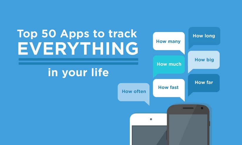 Smartphone Apps to Track Almost Everything