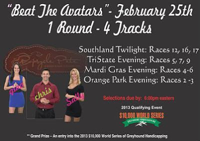 GreyhoundNews: Greyhound Racing Today - Saturday February 23, 2013