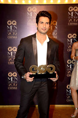 Shahid Kapoor - GQ Men of the Year 2012