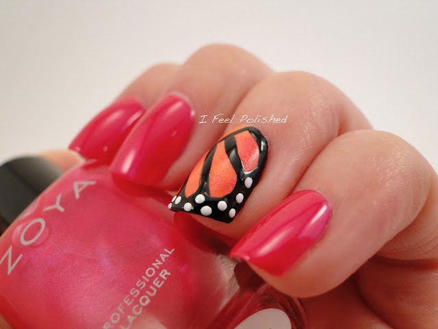 Butterfly Wing Nails