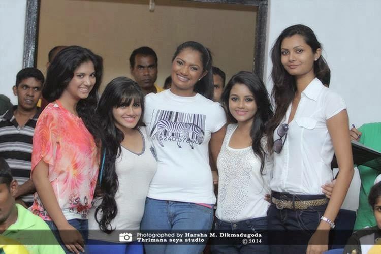 Dinakshie Priyasad, Shanudri Priyasad, Senali Fonseka