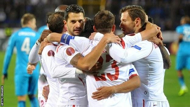 Highlights Zenit St. Petersburg 2 – 2 Sevilla (Europa League)