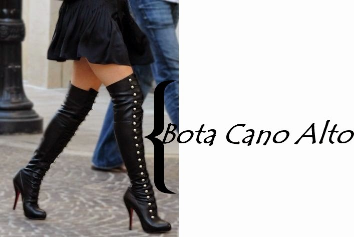 Dicas de como montar um look usando botas de cano alto, inverno.