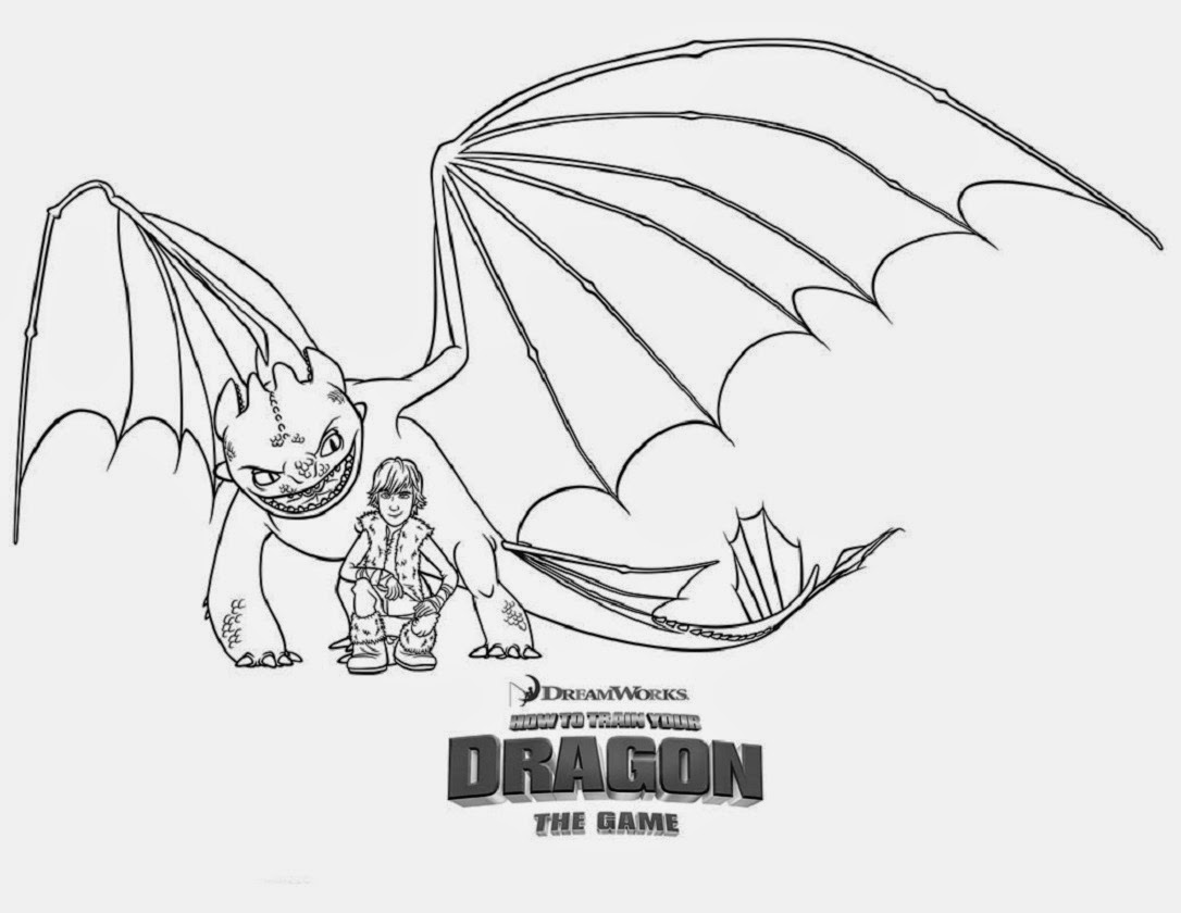 How to Train Your Dragon Coloring Drawing Free wallpaper