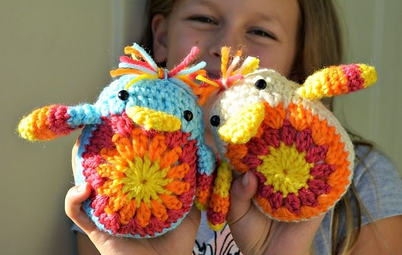 Free Crochet Pattern Easter Chick : tangled happy