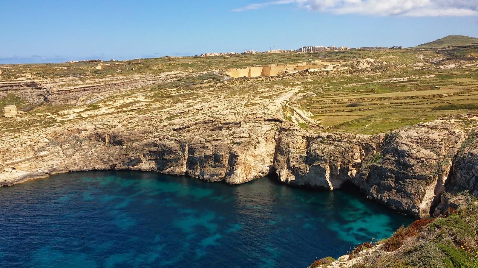 Zatoka Dwejra, Gozo, Malta