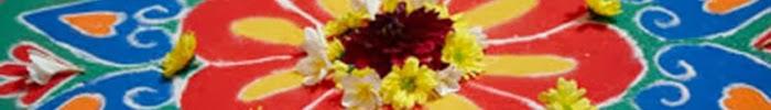 Rangoli designs for festive season