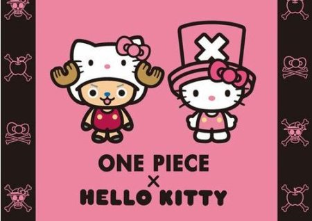 One Piece e Hello Kitty