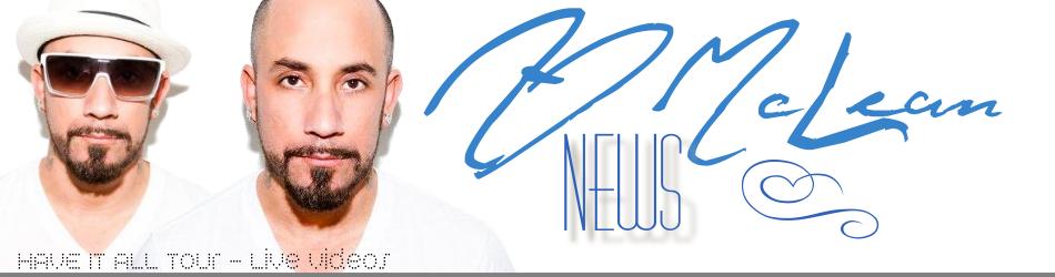 AJ McLean News - HAVE IT ALL Tour Live Videos