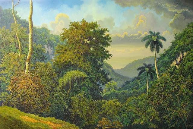 paisajes-con-palmeras-pintadas-al-oleo