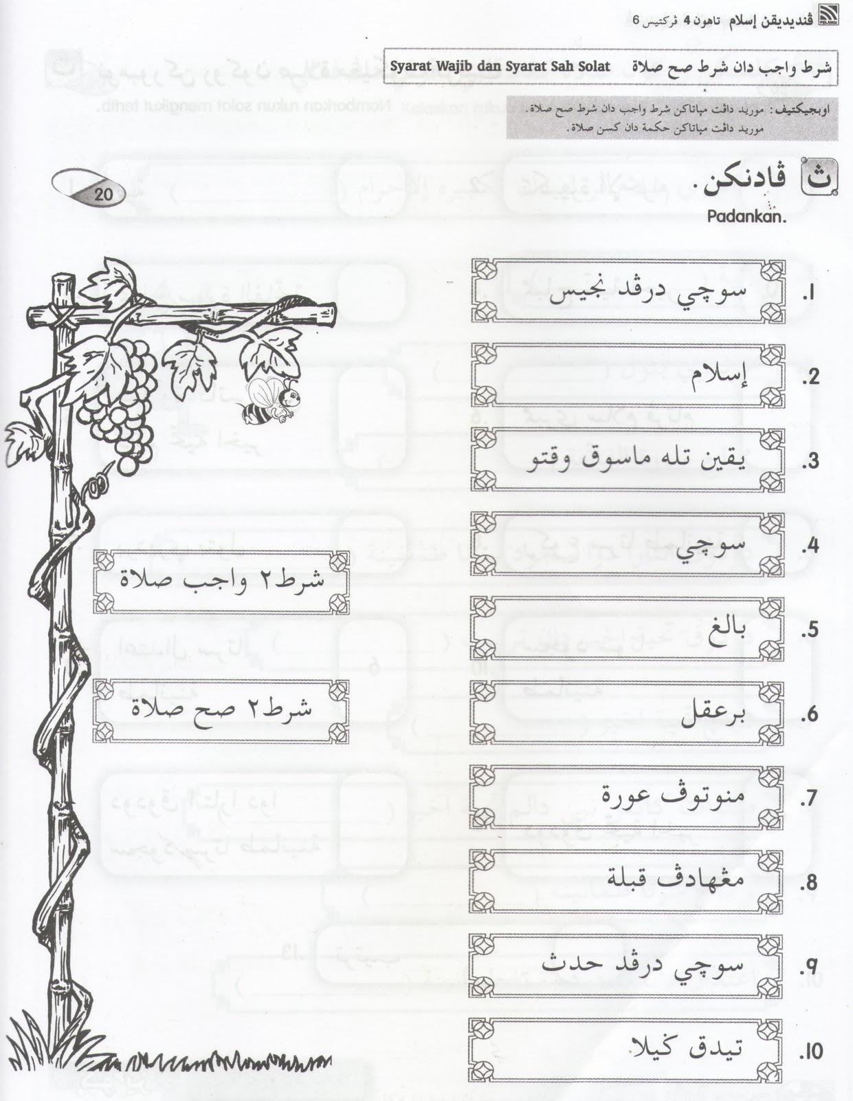 Pendidikan Islam Tahun 2 Lessons Tes Teach