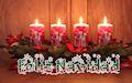 Feliz Navidad, Merry Christmas and Joyeux Noel Mensajes