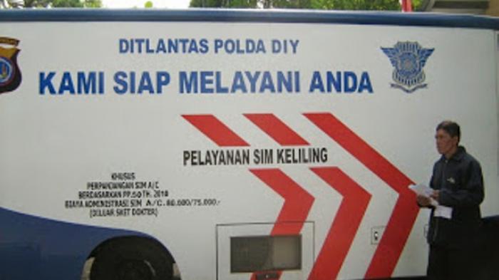 Inilah Jadwal Layanan SIM Keliling Yogyakarta