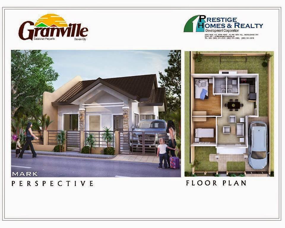 Mark House Model Granville Subdivisions Davao