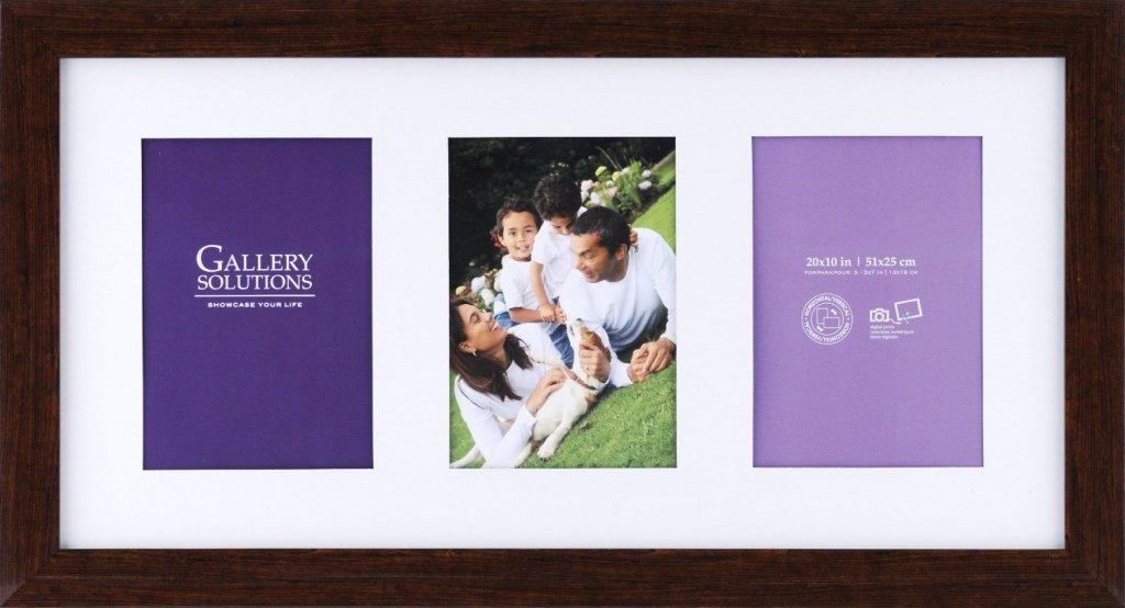 Openings Collage Frame-Gallery Solutions Ashwood 3 | 5x7 Collage frames