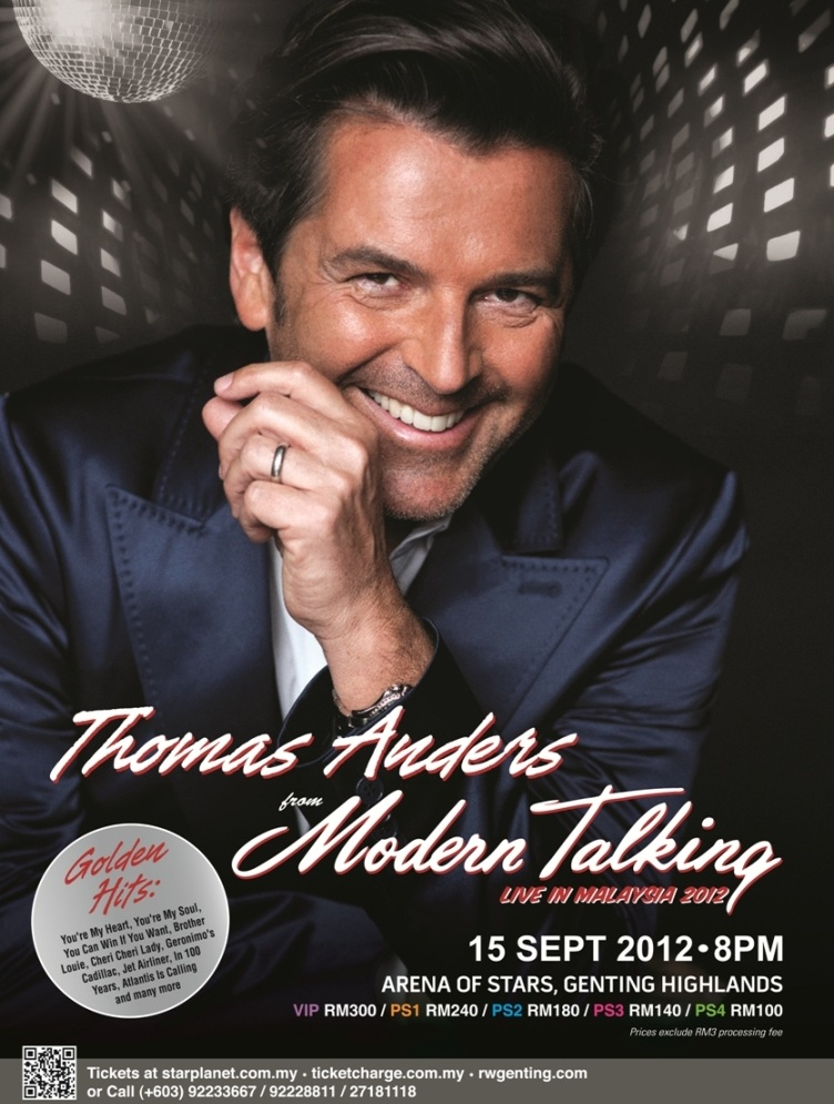 Thomas Anders Concert Idea Who is Thomas Anders