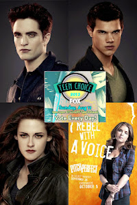 Vote em Breaking Dawn - Part 2 e no Elenco para o Teen Choice Awards