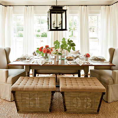 Dining room design ideas mixed seating driven by decor for Breakfast room ideas
